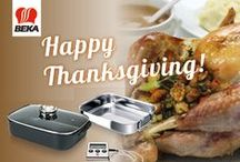 Thanksgiving turkey tips / Happy Thanksgiving. In the US, they all started counting down. The festive season, 'the holidays', kicks off with a grand dinner. Thanksgiving has since become popular in the rest of the world. Do you also feel like having a delicious feast? With these tips your 'Thanksgiving Turkey' is bound to be a success!  www.beka-cookware.com/blog/thanksgiving-turkey-tips
