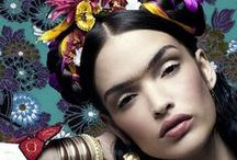 inspired by  ✯  Fяɨdα  Кค卄Lⓞ  ✯ /  photos inspired by frida kahlo / by αиƥhεℓia ⇴ ﮐϯe√ia