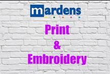Mardens Print & Embroidery / Visit our clothing site www.clothingplus.co.uk