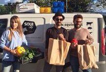 #vitadaagronomi / Segui Alfredo, Mauro e Dario nelle loro consegne per Squicity!