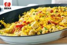 Paella: Valencia on your plate / Paella can be so perfect that it completely makes your day. But what are the secrets of a perfect paella? Discover our tips and a step-by-step instruction of the Beka Cookware chefs.