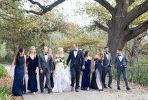 Bridal Party / Bridal Party, Bridal Party Colours, Bridesmaids, Groomsmen