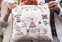 ウェルカムボード / Emby is Tokyo based embroidery brand . Bridal items are available online store http://shop.emby.jp/ More details on Emby HP  http://emby.jp/