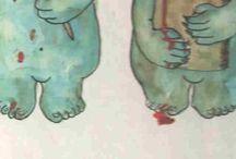Kinderboeken illustraties..