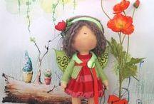 Текстильные куклы / Текстильные куклы ручной работы