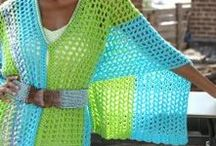 CROCHET; ponchos etc.