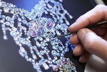Gouachés - Jewel sketch / by La Gourue