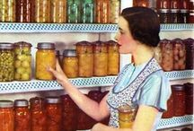 """Canning & Preserving / """"Canning is a whole world of a thing to do. It requires that you get out of your head. It's a Zen thing. You cannot be wondering about your inadequacies and how they drove Bob off and be making jelly. You'll wind up with big, cylindrical jujubes.""""  ― Debby Bull"""