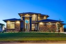 Prairie Style Homes / www.windsorwindows.com Transitional Prairie Style Homes / by Windsor Windows & Doors