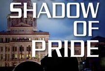 In the Shadow of Pride / Fourth book in my Shadow series. Mac McNeil and Lexie Trevena's HEA.  Lexie Trevena buried her cheating husband and adopted his newborn son - all before noon. Framed for launching a drone into a Texas senator's home, she accepts help from FBI agent, Mac McNeil, the man responsible for her husband's death. Can Lexie keep her heart intact while preventing a terrorist attack? Free chapter reads on my website. Hugs! http://www.nancycweeks.com