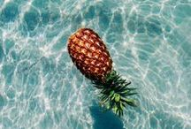 pineapple delights / making use of pineapples in many things.