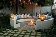 Outdoor Kitchen/Fireplace