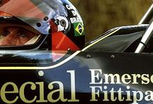 Emerson Fittipaldi / Formula One Champion of 1972 and 1974.