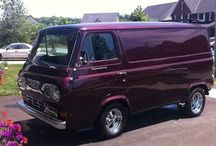 Mostly Ford Econolines from the early 60's / I'd like to find a '63 Ford Econoline for a project. There are some great examples out there and a few can be seen here.