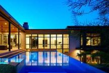 Modern Style Homes / www.windsorwindows.com / by Windsor Windows & Doors