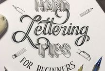 Writing/ Hand-Lettering