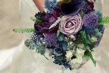 Wedding bouquets // dark