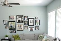 Wall Decorating Ideas / This board contains inspiring pins on wall decoration ideas. http://SimpleSewingProjects.com