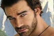 Sinful Surrender Character Inspiration (Psychic Menage #1) /  Inspiration for Book 1 in my Psychic Ménage Series / by Houston Havens