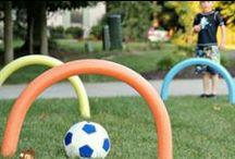 Creative Outdoor Kids' Play