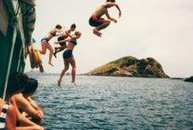 été ☀ / L' été est ma période préférer: on peux voyer , faire des rencontre , on profite de la plage , de la mer.... the summer is my paradis ! L été est fait pour s'amuser