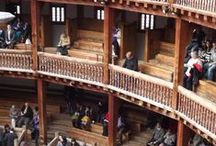 The Globe Theatre / The project to rebuild Shakespeare's Globe was initiated by the American actor, director and producer Sam Wanamaker after his first visit to London in 1949.