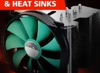 """Cooling Fans & Heat Sinks / Memory4less offers attractive deals on all computer related products.. Our catchy deals offered on Memory, Hard Drives, Motherboards, Processors, Solid State Drives, Servers, Power Supplies, Printer Accessories, Graphic Cards, Network Accessories, Monitors, Batteries, Cooling Fans, Heat Sinks, Laptops, Phones, Scanners, Faxes, Copiers, Cartridges, Network Adapters, DVD Burners, CD Burners and more.  Be a """"Smart Shopper"""" and Get great deals on http://memory4less.com.."""