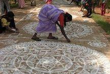 mandala / by Julia Astreou Woven Textiles