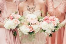 WEDDING || blush pink / A little something to blush about. Beautiful blush pink and peaches for a timeless, romantic look. Board curated by the Albin Polasek Museum and Gardens.