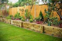 DIY Garden Landscaping Ideas / by Amanda Kiffen