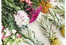 Fruit & Flower Flatlays / Petal Fresh