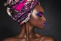 Foulards / Idées coiffure avec foulards