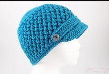 Hæklede hatte/huer/luer
