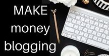 Make Money Blogging / Do you want to earn money with your blog? Tips and Ideas how to turn blogging into a money making machine. elenaopeters.com