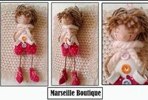 marseille boutique creations / le creazioni di marseille boutique #brooch #felt #handmade #style