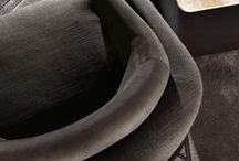 Fil Noir armchair