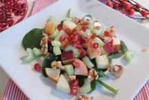 Salater og Tilbehør / Her finner du et utvalg av salater og ellers godt tilbehør.