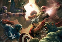 Avengers / 'cause I somehow became a Marvel-fangirl xD / by Tama Camacaileon
