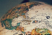 """""""This heart of mine was made to travel this world"""" <3 / Places I've been and places I'd love to visit. #travel"""