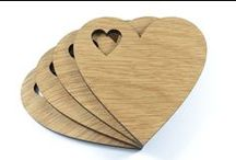 Laser Cut / Laser cut products specifically for or that could be used for weddings