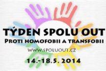 Spolu out / projekt s cílem přinést informace a podporu rodinám LGBT osob v procesu coming outu