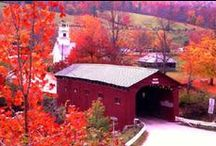 Rustic Covered Bridges / by stand on the word