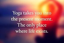 Y O G A / There's an inner yogi wanting to get out in all of us