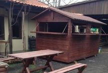 Wooden house / wooden house - canteen