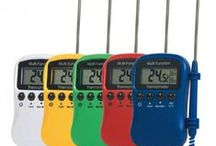 Catering Thermometers and Probes / All sorts of commercial thermometers and food probes for the professional kitchen. http://www.mklimited.com/