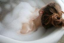In bathtub