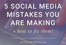 S O C I A L M E D I A / Social media marketing tips and tricks.