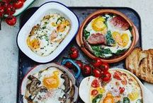 M O R N I N G / Brunch is my favourite meal of the day! Here are some healthy and (not so healthy) recipes to make that are guaranteed to brighten up your day! Most are gluten and dairy free - or easily customisably so.