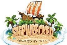 Shipwrecked Bible Crafts (2018)