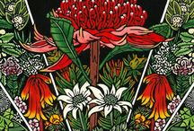 Lynette Weir -  Australian Artist - Linocuts / NOTE: All Artwork/Works in Progress/Drawings/Designs/Photos are COPYRIGHT